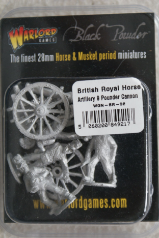 Warlord Games 28mm WGN-BR-32 British Royal Horse Artillery 9 Pdr
